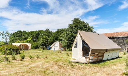Camping en tente-lodge