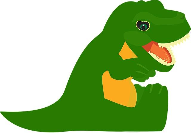 Doudou T-Rex : un bon choix pour son enfant
