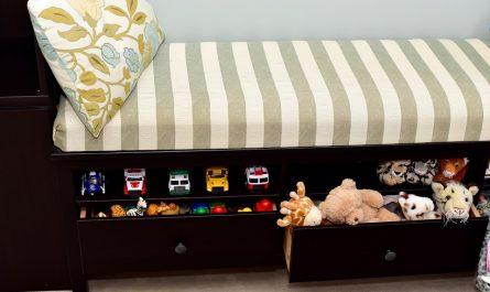 Enfant : Opter pour un lit coffre pour plus de rangements